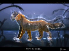 "Brambleclaw and Squirrelflight ""Leafpool's vision"" - Warrior Cats"