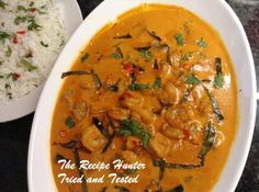 TRH Thai Red Prawn Curry