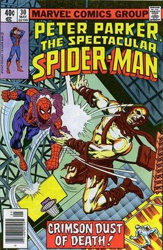 The Spectacular Spider-Man (May Marvel) for sale online Spiderman Man, Amazing Spiderman, Spiderman Classic, Comic Book Covers, Comic Books, Comic Art, Marvel Heroes, Marvel Comics, Marvel Vs
