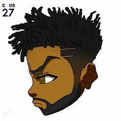 Dope Cartoon Art, Dope Cartoons, Cartoon Kunst, Cartoon Drawings, Arte Dope, Dope Art, Dope Kunst, Black Cartoon Characters, Bd Art