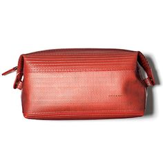 A toiletry bag made from repurposed fire hose, Fire Hose wash kit, $89