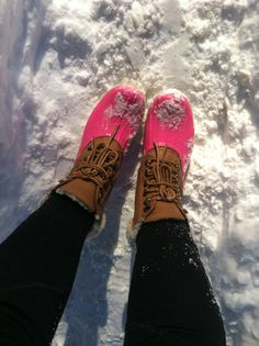 Pink duck boots! SHUT UPPP!!!
