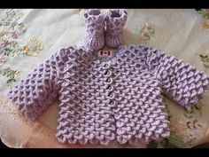 VERY EASY crochet cardigan / sweater / jumper tutorial - baby and child sizes 14 - YouTube