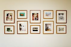Heather Armstrong's (dooce) gallery wall