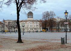 Charlottenburg Palace grounds in Berlin. Landscape Photography, Street Photography, Wall Art, Street Art, Framed Print, Wall Decor