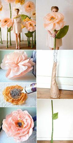 10 Meilleures Images Du Tableau Rose En Papier Crepon Crepe Paper