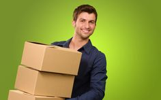 A Young Man Holding A Stack Of Cardboard Boxes On Green Background Poster House Removals, Moving House, Green Backgrounds, Young Man, Hold On, Van, Cardboard Boxes, Notting Hill, Shirt
