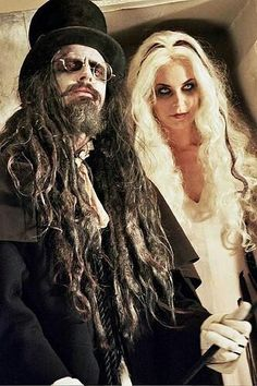 Rob Zombie & Sheri Moon Zombie for Halloween