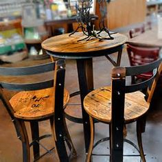 ... Wine Barrel Furniture → Chairs and Benches → Sonoma Barrel Bench