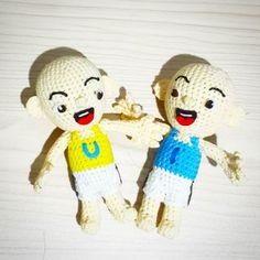 Ipin upin  lupa foto after pake jambul   #crochet #amigurumi upin #ipin #upinipin#customgift  #boneka #rajutan #bonekarajut #rajut #bagcharm #keychain #souvenir #project #openorder #custom #babababanana #etsy #craft #art #handmade #handcraft #kado #kadounik #custom #customegift #surabaya #souvenir #couple #love by ditawilljayanti