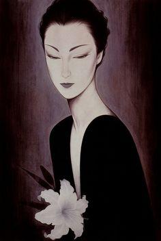 Kai Fine Art is an art website, shows painting and illustration works all over the world. Art Asiatique, Kumamoto, Art Japonais, Wow Art, Japanese Painting, Art Graphique, Fine Art, Japan Art, Japanese Artists