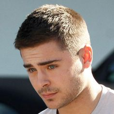 Zac Efron Buzz Cut