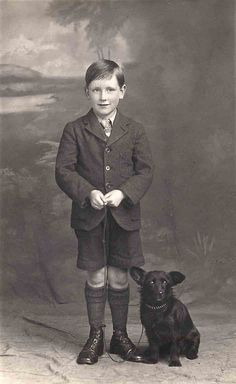 +~+~ Vintage Photograph ~+~+ Perfectly groomed boy from top to bottom!