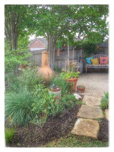 Garden Backyard Fort Worth Texas BH2302