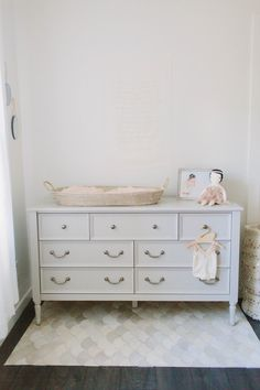 Nursery Dresser + Changing Table   Photography : Meg Perotti Read More On  SMP: Http