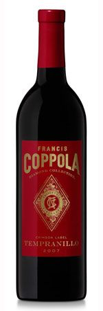 Coppola Tempranillo 2007 6-pack for $60!