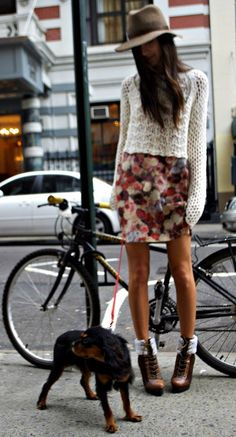 blurred floral prints are great for fall (especially with a cozy sweater) 07151f764