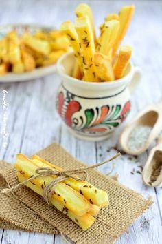 Sărăţele cu brânză şi chimen | Bucate Aromate