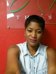 My new style #pixiecut. . O absolutely love it
