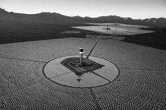 Deep in the Mojave Desert, the mirrors of Ivanpah Solar follow the sun.