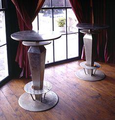 Bar tables for restaurant Rose Arbor, Bar Tables, Furniture Making, Interior And Exterior, Restaurant, Home Decor, Bar Top Tables, High Tables, Diner Restaurant