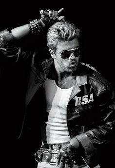 george michael. I think he was like my very first heart throb crush! My mom listened to him all the time and even had all the music videos she bought on VHS at a concert of his. lol Which has made me a big fan as well. He's so hot! haha
