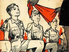 Pierre Joubert - Foulard de Sang Norman Rockwell, Boy Scouts, Semper Fidelis, Boys Life, Sang, Illustrations, Paracord, Freedom, Europe