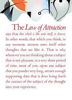 ARTICUS - Un mondo tutto da scoprire.: Health, The Law Of Attraction For The Day