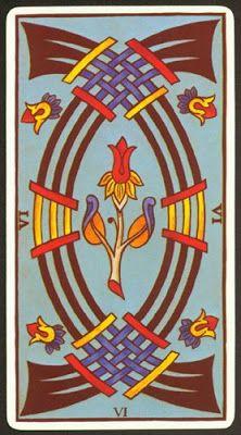 Arcanos Menores Marsella Seis De Espadas Magia Del Tarot Tarot Arcanos Menores 4 De Espadas