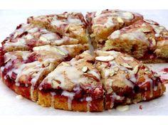 Raspberry Almond Coffee Cake for National Coffee Cake  Day April 7, 2013