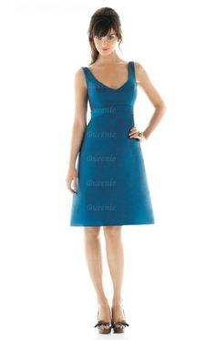 Hot Style Blue Bridesmaid Dress BNNAJ0110-Bridesmaid UK