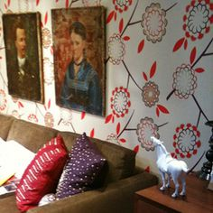Birdtree Wallpaper by Neisha Crosland, love love love