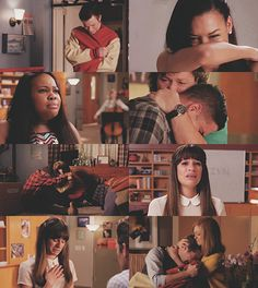 Carol and Mr Shue is where I lost it most. #Glee #TheQuarterback I bet they didn't even have to fake cry I bet the emotions were real #prayforgleecast