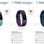 Fitbit : les Charge 2 et Flex 2 fuitent sur la toile