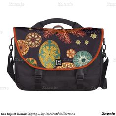 Sea Squirt Remix Laptop Bag