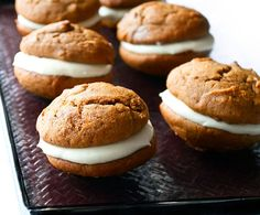 I've got learn how to make whoopie pies... I've only ever eaten the packaged kind, but the homemade ones look so YUMMY!