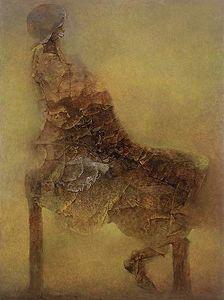 Sans titre 317 - (Zdislav Beksinski)
