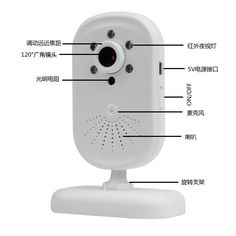 (66.48$)  Watch now - http://ai9am.worlditems.win/all/product.php?id=32662482142 - 2.8 Inch  120 Degree Wide Angle  Baby Monitor IR Night Vision Wireless Intercom System