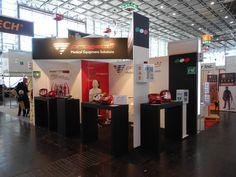 A+A - Düsseldorf: PROGETTI. Ricerca, analisi, promozione e comunicazione. Progettazione e realizzazione dell'allestimento dello stand. Photo by honegger