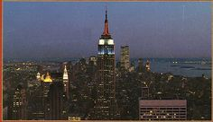 empire state building from rca building july 1985