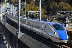E7 and W7 series train, operated by JR East and JR West in Japan, runs on the Hokuriku Shinkansen line. #e7 #w7 #shinkansen #train #japan #jreast #jrwest