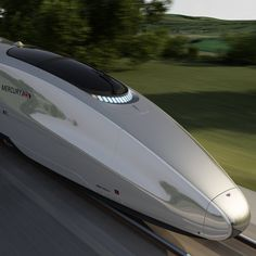 British designers Priestmangoode have unveiled a conceptual high-speed train for the UK. The London studio have created the design, entitled Mercury, in an attempt persuade the British government to advance the project. Their 400 metre-long, double-decker train would travel at 225 mph and have one of the longest nose sections in the world. The interior
