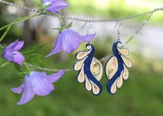 Paper Quilling For Beginners, Paper Quilling Tutorial, Paper Quilling Patterns, Quilling Techniques, Paper Quilling Earrings, Quilling Art, Paper Jewelry, Jewellery Diy, Jewelry Making