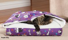 Drs. Foster & Smith Hide-a-Way Cat Bed