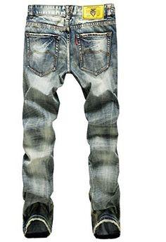 Fashion Casual Skinny Taper Slacks Harem bukser menn