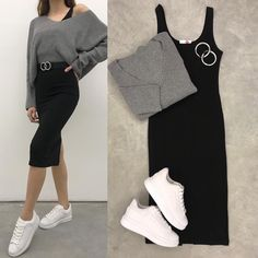 More details Dm, Click and Comment . Tag and share with your friends 😍😍😍. More details Dm, Click and Comment . Tag and share with your friends 😍😍😍 ***** Skirt Fashion, Hijab Fashion, Korean Fashion, Fashion Dresses, Fashion Fashion, Cute Casual Outfits, Stylish Outfits, Mode Outfits, Fall Outfits