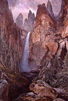Tower Falls Thomas Moran; No date