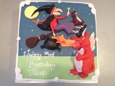 Cake idea for Room on the Broom birthday