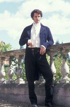 Colin Firth as Mr Darcy in Pride & Prejudice, 1995