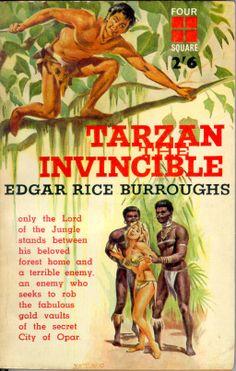 Tarzan the Invincible by Edgar Rice Burroughs